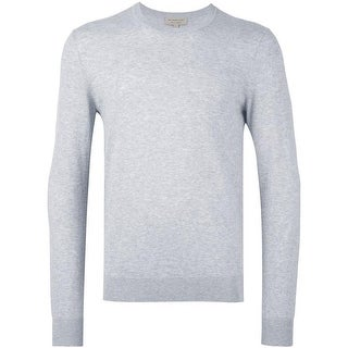 958ede3e Shop Burberry Randolf Navy Cashmere V-neck Sweater - Free Shipping ...