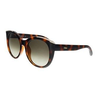 Chloe CE660S 219 Tortoise Round Sunglasses - 55-19-140