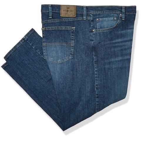 Wrangler Authentics Men's Big & Tall Classic Relaxed Fit Jean,slate flex,48x32 - 48W x 32L