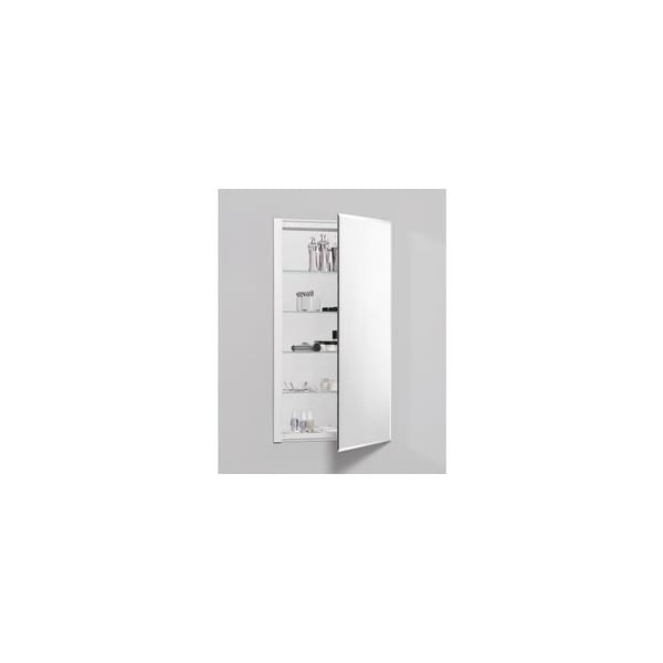 """Robern RC2036D4FB1 R3 20"""" x 36"""" x 4"""" Beveled Single Door Medicine Cabinet with Reversible Hinge - mirrored - N/A"""