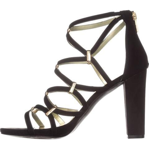 Carlos by Carlos Santana Womens Francesca Open Toe Ankle Strap Classic Pumps - 10