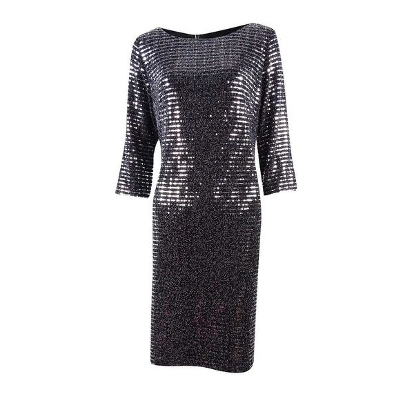 a4db3d27e47b Shop Jessica Howard Women's Sequined Sheath Dress - On Sale - Free Shipping  On Orders Over $45 - Overstock - 17572992
