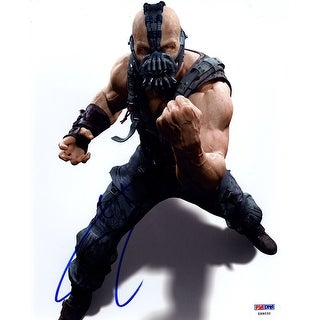 "Tom Hardy Signed ""The Dark Knight Rises"" Bane Close Up Action 8x10 Photo"