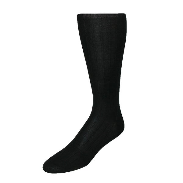 Windsor Collection Men's Cotton Over the Calf Dress Trouser Socks