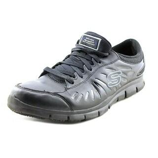 Skechers Work Eldred WW Round Toe Leather Work Shoe