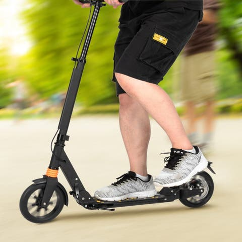 Scooter for Adult&Teens 3 height adjustable easy folding double shock absorber