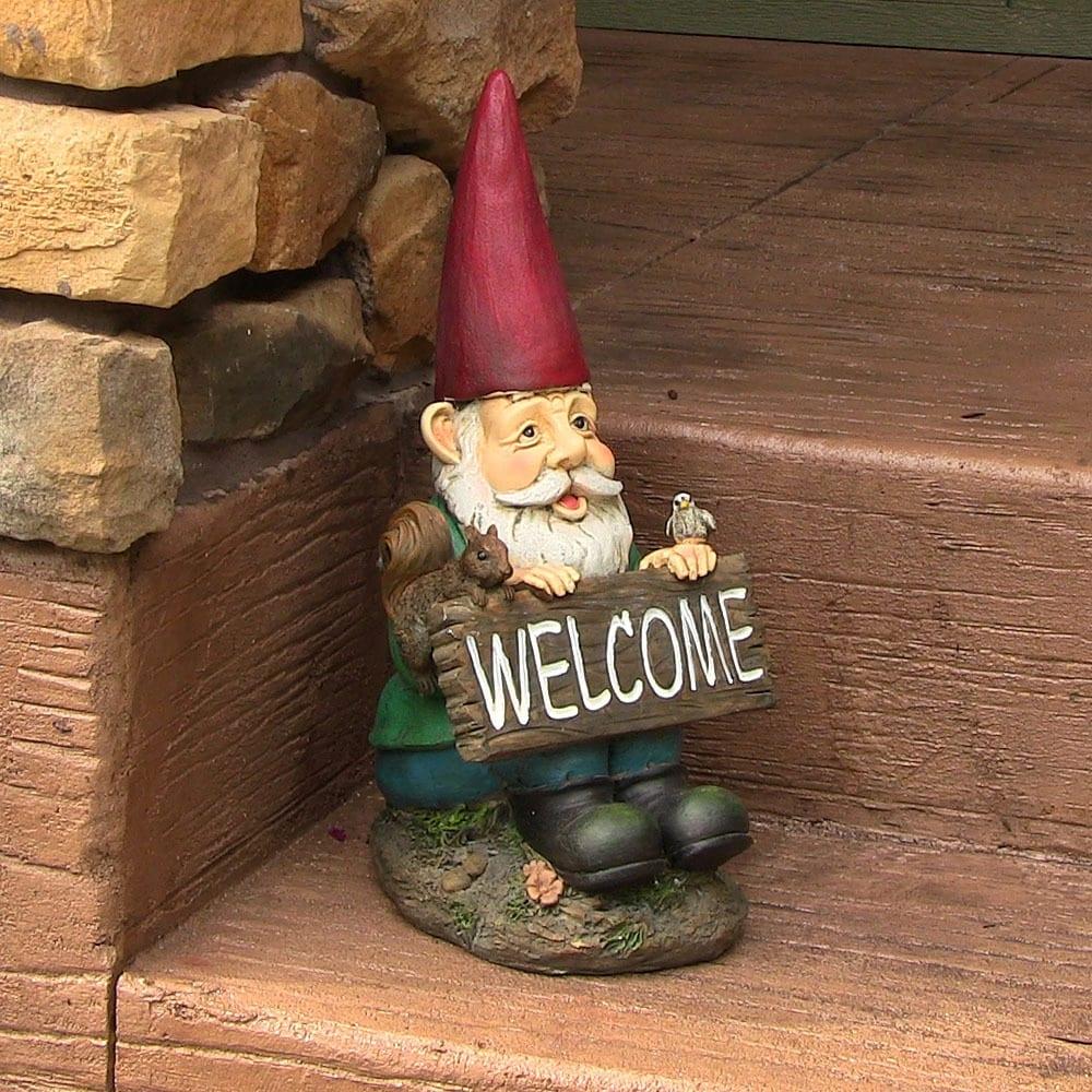 Sunnydaze Garden Gnomes - Thumbnail 0
