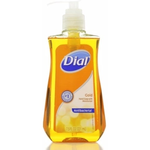Dial Antibacterial Liquid Hand Soap Gold 7 50 Oz