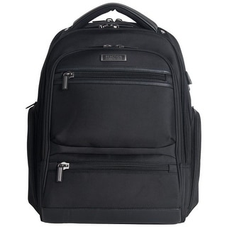 Link to Kenneth Cole Reaction Heathered 17-inch Laptop & Tablet TSA Checkpoint Friendly RFID Business Backpack Similar Items in Backpacks