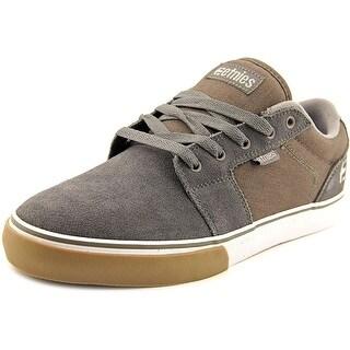 Etnies Barge LS Round Toe Suede Skate Shoe