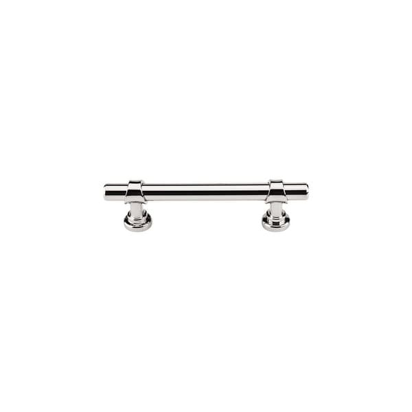"Top Knobs m1289 Bit 3-3/4"" Center to Center Bar Cabinet Pull from the Asbury Series - Polished Nickel"