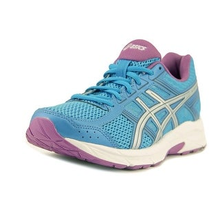 Asics Gel-Contend 4 Women D Round Toe Synthetic Blue Running Shoe