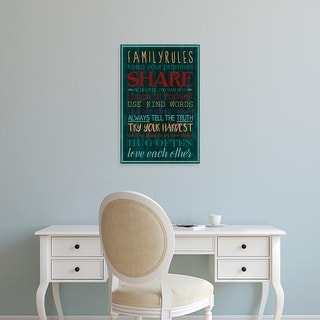 Easy Art Prints Grace Popp's 'Spice Family Rules I' Premium Canvas Art