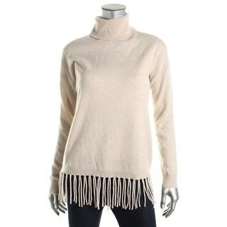 Private Label Womens Cashmere Fringe Sweater