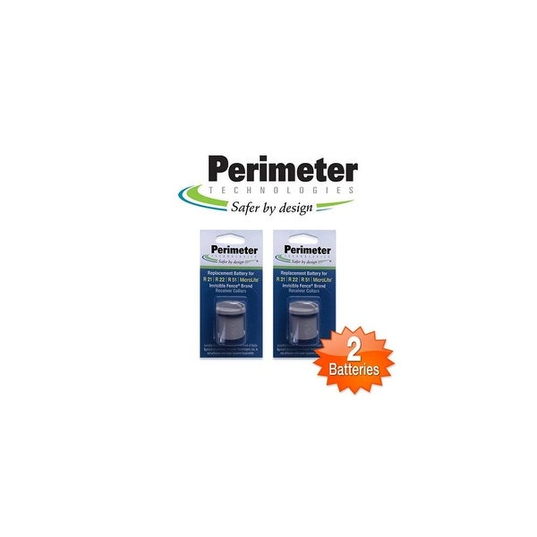 Perimeter IFA-001 - 2 Pack R21 AND R51 IF RECEIVER BATTERIES