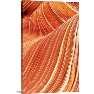 """Close-up of sandstone"" Canvas Wall Art"