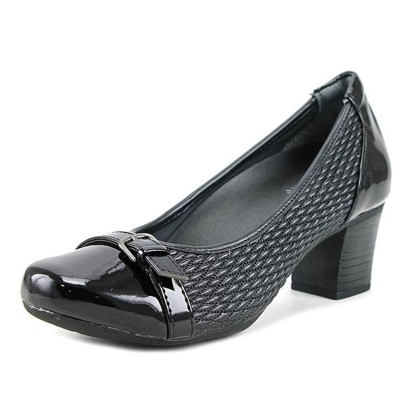 FootSmart Katie WW Round Toe Synthetic Heels