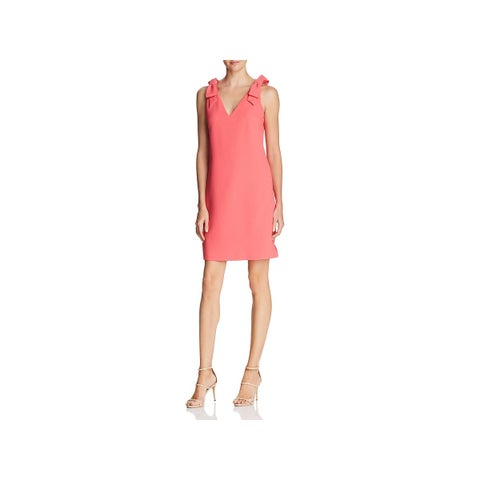 Eliza J Womens Party Dress Textured Knee-Length