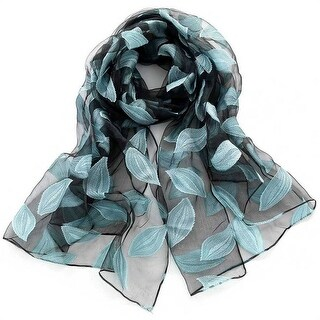 Mad Style Blue Suspension Leaf Scarf