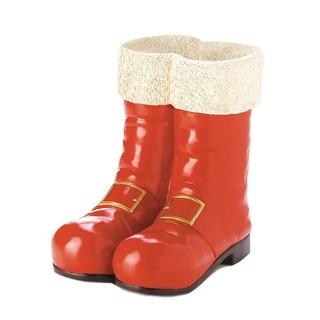 Santa Boots Decorative Vase