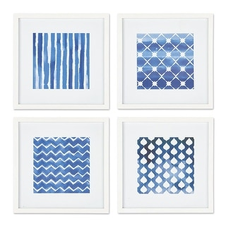 Napa Home And Garden HC127 20 Inch X 20 Inch Four Piece Framed Textile  Painting