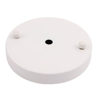 120mmx20mm Ceiling Plate Chassis Disc Round Base Pendant Light Accessories White