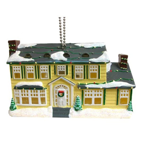 National Lampoons Light Up House Clip On Christmas Ornament