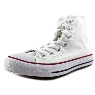 Converse Chuck Taylor All Star Hi Women Round Toe Canvas White Sneakers