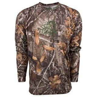 King's Camo Hunter Series Long Sleeve Shirt Realtree Edge - Camouflage