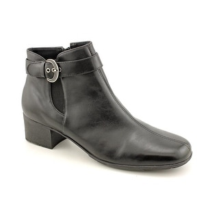 Elites by Walking Cradles Monte WW Round Toe Leather Ankle Boot