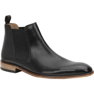Giorgio Brutini Men's Grant Chelsea Boot Black Russel Leather