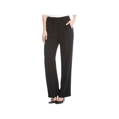 Karen Kane Womens Trouser Pants Crepe Pull On