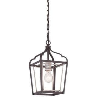 Minka Lavery 4341-593 1 Light Mini Pendant from the Astrapia Collection