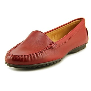 Sebago Meriden Moc Moc Toe Leather Loafer