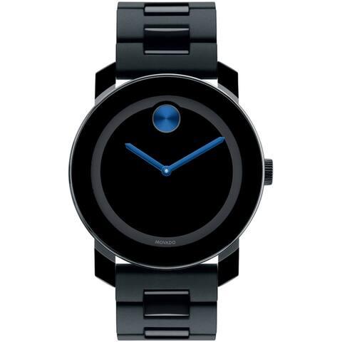 Movado Men's Bold Black Dial Watch - 3600099 - One Size