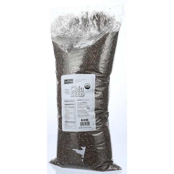 Nutiva Organic Chia Seeds - 10 lb