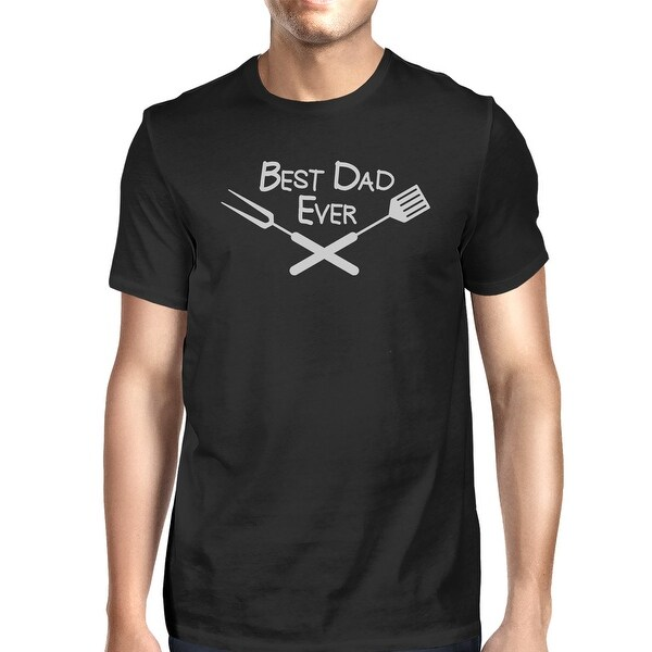 Best Bbq Dad Mens Black Cotton Tee Shirts For Fathers Who Love Bbq