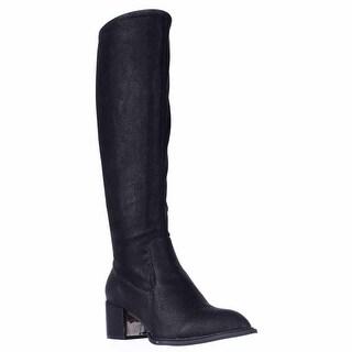 BCBGeneration Sunshine Knee High Stretch Boots, Black
