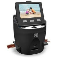KODAK SCANZA Digital Film & Slide Scanner – Converts 35mm, 126, 110, Super 8 & 8mm Film Negatives & Slides to JPEG