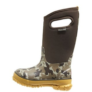 "Bogs Boots Boys Kids 10"" Classic Camo Waterproof Rubber 71397"