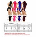 NEW Women Bodycon Side Slit Short Sleeve Evening Formal Party Cocktail Short Mini Dress - Thumbnail 7