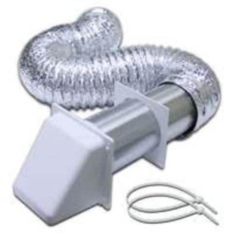 "Lambro 1365W Preferred Hood Vent Kit, 4""X5'"