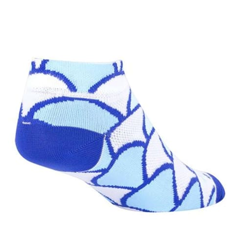 SockGuy Women's 1in Miami Cycling/Running Socks