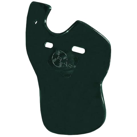 Markwort C-Flap Jaw and Cheek Protection for Left Handed Batter - Dark Green