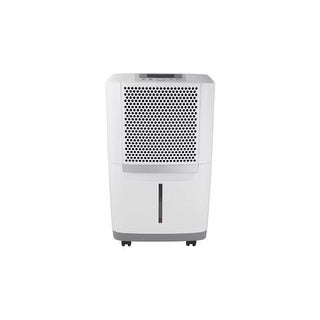 """Frigidaire FAD704DWD 16"""" Wide 70 Pint Energy Star Certified Freestanding Dehumidifier with Dual Speeds - White - N/A"""