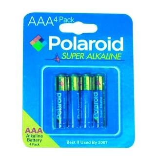 Polaroid Heavy Duty 4 Pack AAA Battery