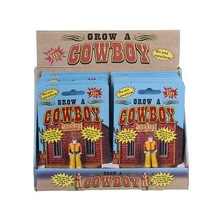 Tough-1 Toy Western Accessories Grow-A-Cowboy Grows 600% 87-8358