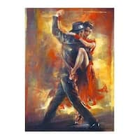 ''Tango Argentino'' by Pedro Alvarez Kunst Graphics Art Print (31.5 x 23.5 in.)