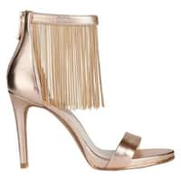 Kenneth Cole New York Women's Bettina Ankle Strap Sandal Rose Gold Leather