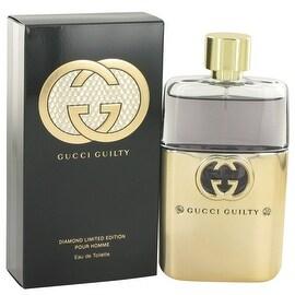 Gucci Guilty Diamond by Gucci Eau De Toilette Spray 3 oz - Men